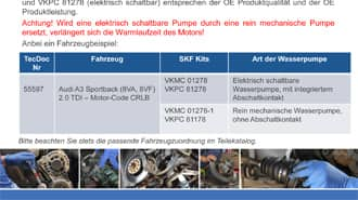 SKF VKPC 81178 Wasserpumpe Wasserpumpe